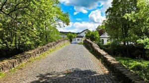 Alte Nisterbrücke am Kloster