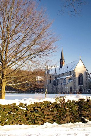 Winterstimmung Abtei Marienstatt