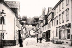Die Marktstraße um 1907