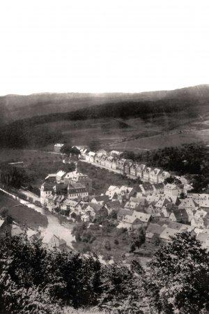 Blick zur Wilhelmstraße um 1870