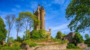 Schlossberggelände mit Wilhelmsturm